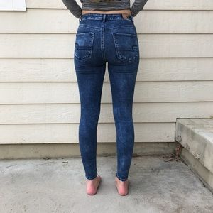 American eagle high waist jegging